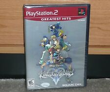 PS2 - KINGDOM HEARTS 2 SEQUEL RPG Square ENIX (Brand NEW Sealed) GH worldship