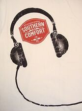 Southern Comfort New Orleans Original White Music Headphones T Shirt L