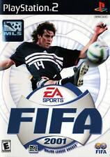 FIFA 2001: Major League Soccer Video Game SONY PlayStation 2 PS2 Console System