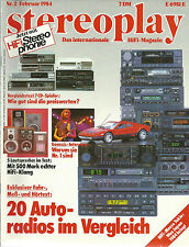 Stereoplay Nr.2 Februar 1984 Yamaha CD-X1 Accuphase T-106 Mitsubishi DP-103