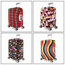 Elastic Travel Luggage Suitcase Spandex Dust-proof Cover Protector For 22''~ 24""