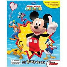 Disney Mickey Mouse Clubhouse My Busy Books Mouse Fun-Book/Playmat/Figurines!
