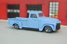 Hot Wheels '52 Chevy Pickup Truck - Flat Blue - Loose - 1:64 - Exclusive