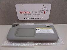 Toyota Rav4 2006 - 2009 Gray Driver Side Vinyl Sun Visor Genuine OEM OE