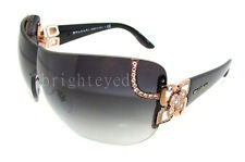 Authentic BVLGARI Shield Rose Gold Sunglasses BV 6079B - 376/8G *NEW*