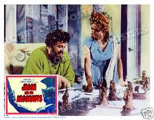JASON AND THE ARGONAUTS LOBBY SCENE CARD # 3 POSTER 1963 ZEUS HERA CHESS GAME