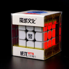 Gray Moyu Weilong GTS 3x3x3 Top Speed Magic cube Wei Long GTS 2016 Turbo Plus