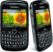 NEUF JAMAIS OUVERT ! SMARTPHONE BLACKBERRY 8520 CURVE NOIR DEBLOQUE CLAVIER !