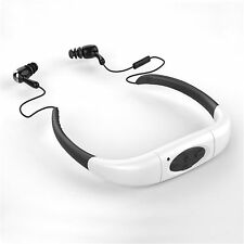 8GB IPX8 Waterproof Swimming Neckband Sport MP3 Music Player Diving Headphone MS