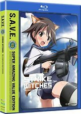Strike Witches . The Complete Season 1 . Anime . 2 DVD + 2 Blu-ray . NEU . OVP