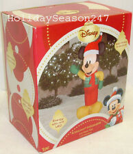 Gemmy 3.5' Disney Mickey Mouse LED Lighted Airblown Inflatable Christmas Balloon
