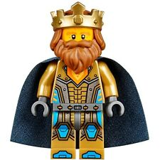 Nexo Knights King Halbert minifigure - Fits Lego + FREE DELIVERY & 14 DAY RETURN
