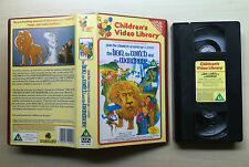 CHILDREN'S VIDEO LIBRARY - THE LION, THE WITCH AND THE WARDROBE - RARE VHS VIDEO