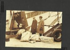 Nostalgia P/C Arrival Mail and passengers from Karachi Imperial Airways 1926