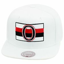 Mitchell & Ness Ottawa Senators Snapback Hat All White