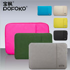 "Laptop Notebook Sleeve Case Carry Bag Cover for 11"" 13"" 15"" MacBook Air Pro 17"""