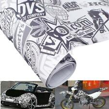 150 x 20cm JDM Cartoon Graffiti Auto Adesivo Bomb Wrap Deco Sticker Pellicola