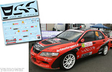 Decal 1:43 Franck Phillips - MITSUBISHI LANCER EVO IX - Rally Montecarlo 2011
