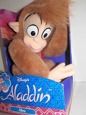 "Disney Abu Plush Monkey Aladdin Stuffed Animal 15"" New In Box Vintage 1992 NRFB"