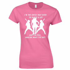 Thin Lizzy Inspired Ladies T-Shirt I'm That Chick Special Offer XL Pink 1 ONLY