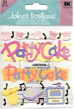 JOLEE'S BOUTIQUE PATTY CAKE DIMENSIONAL STICKERS  BNIP