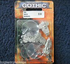 1999 Battlefleet Gothic Barco Pirata bruta Ram Ork escolta Games Workshop BFG 40K