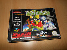 Dr franken super nintendo snes game BOXED FREE POST