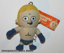 "Japan Panson Works Kinnikuman Muscle 3.5"" Plush Terry Man Keychain"