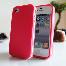 ULTRA SLIM TPU BUMPER CASE FOR iPHONE 5C 5 5S 4 4S SOFT SKIN GEL SILICONE COVER