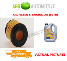 DIESEL OIL FILTER + LL 5W30 ENGINE OIL FOR OPEL ASTRA 1.7 80 BHP 2003-05