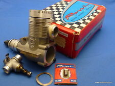 Vintage (Rossi 40R61) R61 3+2 F1 RC ABC Helicopter Engine 10cc Rear Exhaust