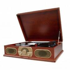 NEW*STUDEBAKER*WOODEN 3 Speed Turntable Record Player*with AM/FM Stereo Radio