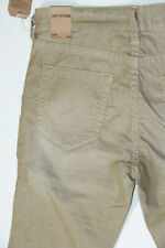 Nwt True Religion Men Geno Slim Beige Corduroys Pants 42 x 34