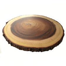 Rustique Rond Tableau diamètre : Approximativement 31cm-34cm,Hauteur 2cm-2.5cm