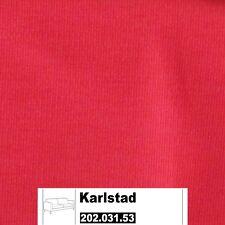 IKEA Karlstad Bezug für 3er Schlafsofa in Sivik rosarot 202.031.53