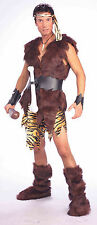 Men's King of Caves Costume Caveman Pre Historic Adult Size Standard