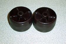 Two Kirby Classic Omega 1CB  Rosewood  Front Wheels 131973 1CR Classic sub.