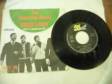 "THE AMERICAN BREED"" GREEN LGHT- disco 45 giri DOT italy 1967""  NUOVO"