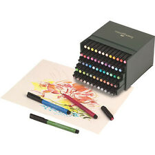 Faber Castell Pitt Artist Brush Pens  60 Colour Box Set