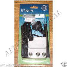 Kingray 2 way 16dB TV Tilt Splitter Ampifier - Part # SA162F