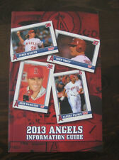 Anaheim Angels 2013 Official MLB Media Guide-NEW