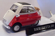 CARARAMA 4-12350 - BMW Isetta 250 Bubble Car Red 1/43 Scale New Boxed - T48 Post