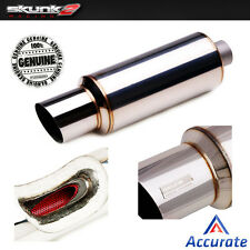 SKUNK2 UNIVERSAL MUFFLER EXHAUST 3.00 INCH / 76mm PIPING / 110mm TIP 415-99-1480