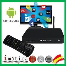 SMART TV INVES 101 ANDROID MULTIMEDIA WIFI HD HDMI REPRODUCTOR TELEVISION RED