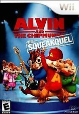 Video Game WII Alvin and the Chipmunks The Squeakquel NEW