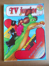 TV JUNIOR n°18  1982 Galaxy 1999 Bia Marco ed. ERI RAI  [G419A]