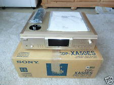 Sony cdp-xa50es high-end CD-Player OVP, champaña, bda & FB, 2j. garantía
