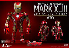Marvel Sideshow Hot Toys Artist Mix IRON MAN MK 43 Age of Ultron Figure
