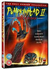 PUMPKINHEAD 2   BLOOD WINGS    UK DVD   NEW/SEALED  Eighties horror