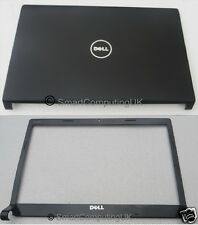 NEW DELL STUDIO 1555 1557 1558 LID COVER & FRONT BEZEL BLACK SET - 0W393J 06DV9